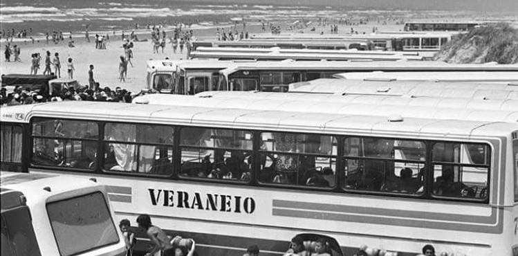 Praia de Cidreira - Veraneio em 1980
