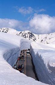 Ruta alpina de Tateyama Kurobe, Japon.jp