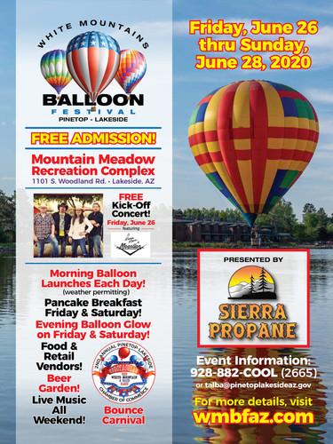 White Mountain Balloon Festival 2020