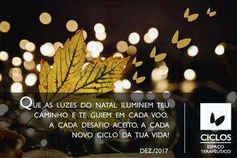 Feliz Natal! Feliz 2018!