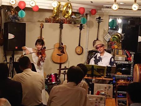 中村 祐実子、東京ライブ開催