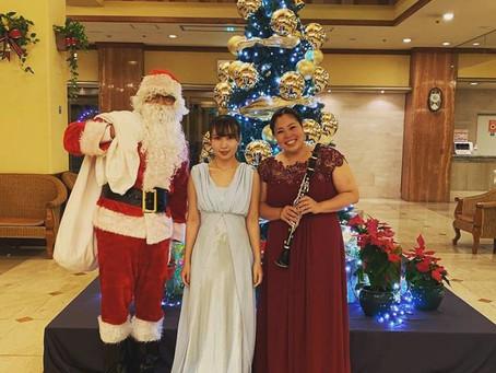 パシフィックホテル沖縄クリスマスロビーライブ、開催!!
