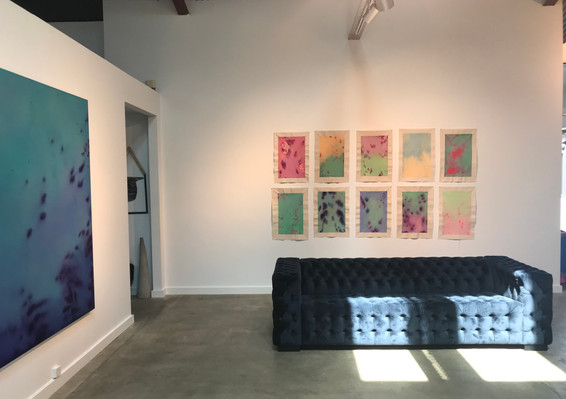 Installation shot, Water Drawings