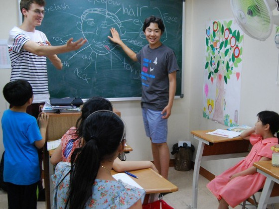 Teaching at Kumkang School, Summer '13