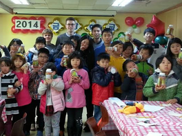 Gifts for Kumkang School Students '14 - Delivery