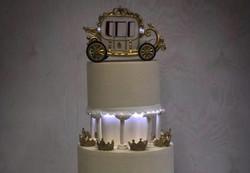 Свадебный торт № С135
