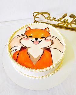 торт Сиба-ину