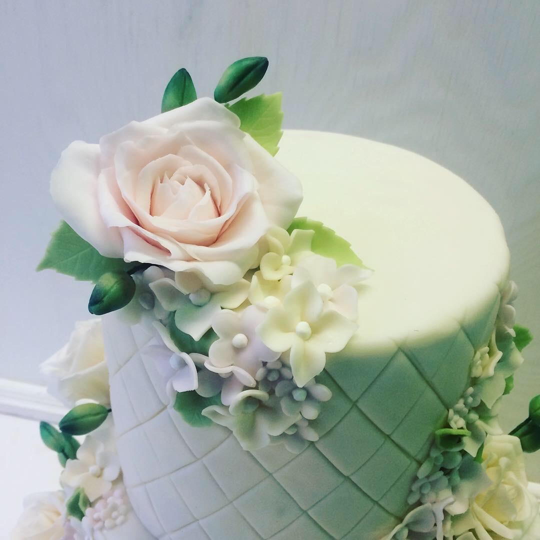 Свадебный торт № С113