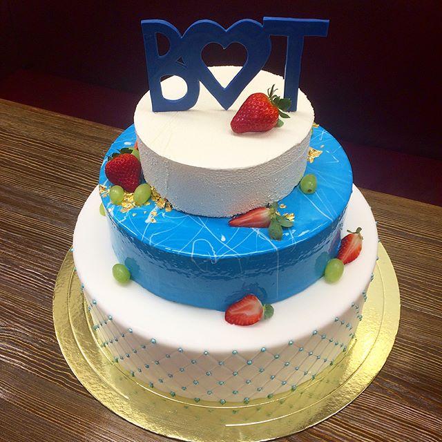 Свадебный торт № 119
