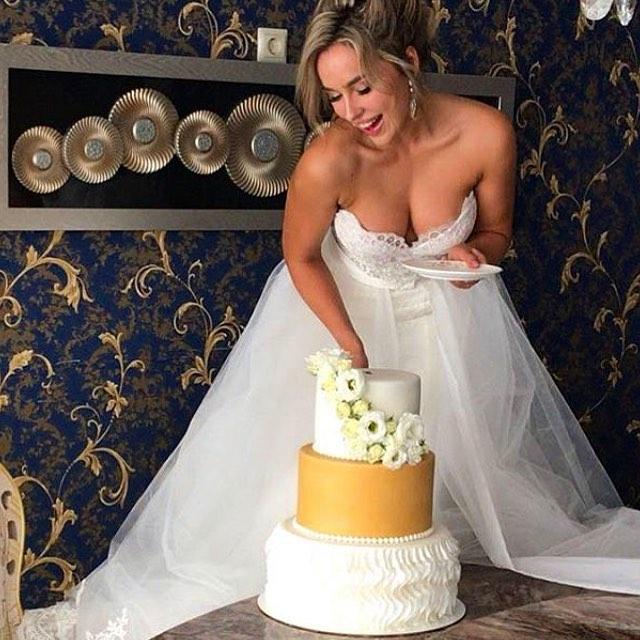 Свадебный торт № С132