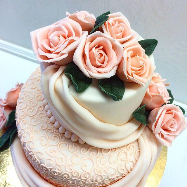 Свадебный торт № С114