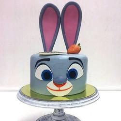 торт Зверополис Кролик