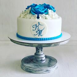 Свадебный торт № С134