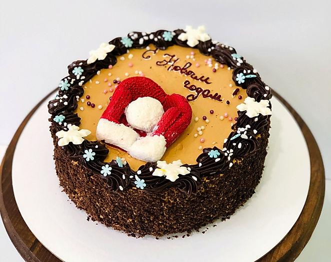 торт Сникерс - новый год 2011