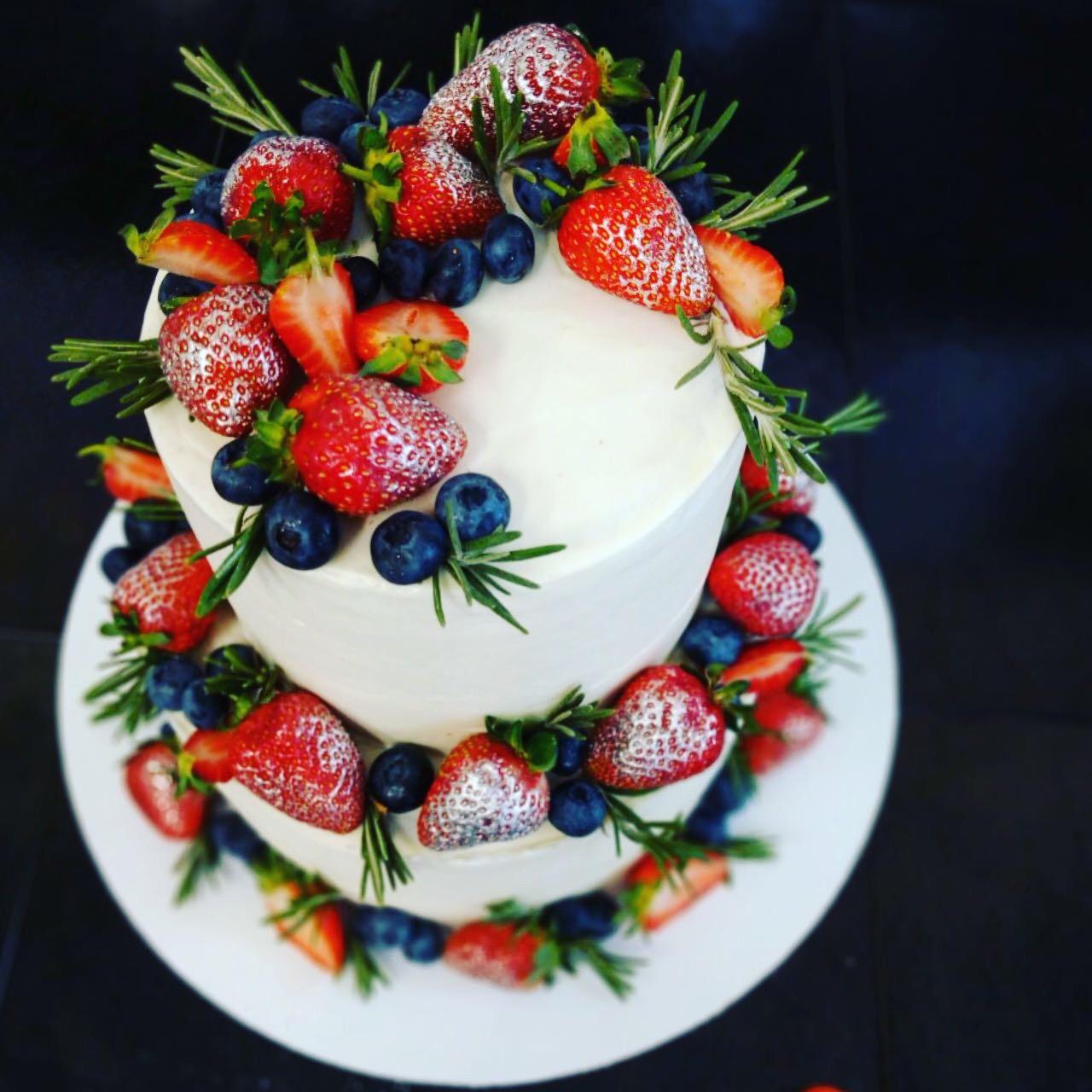 Свадебный торт № С145