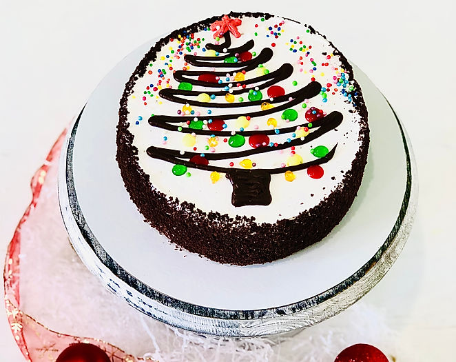 Торт Калифорния - новый год 2021