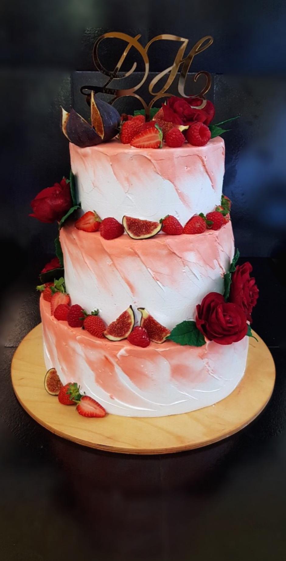Свадебный торт № С140