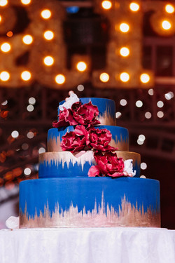 Свадебный торт № С138