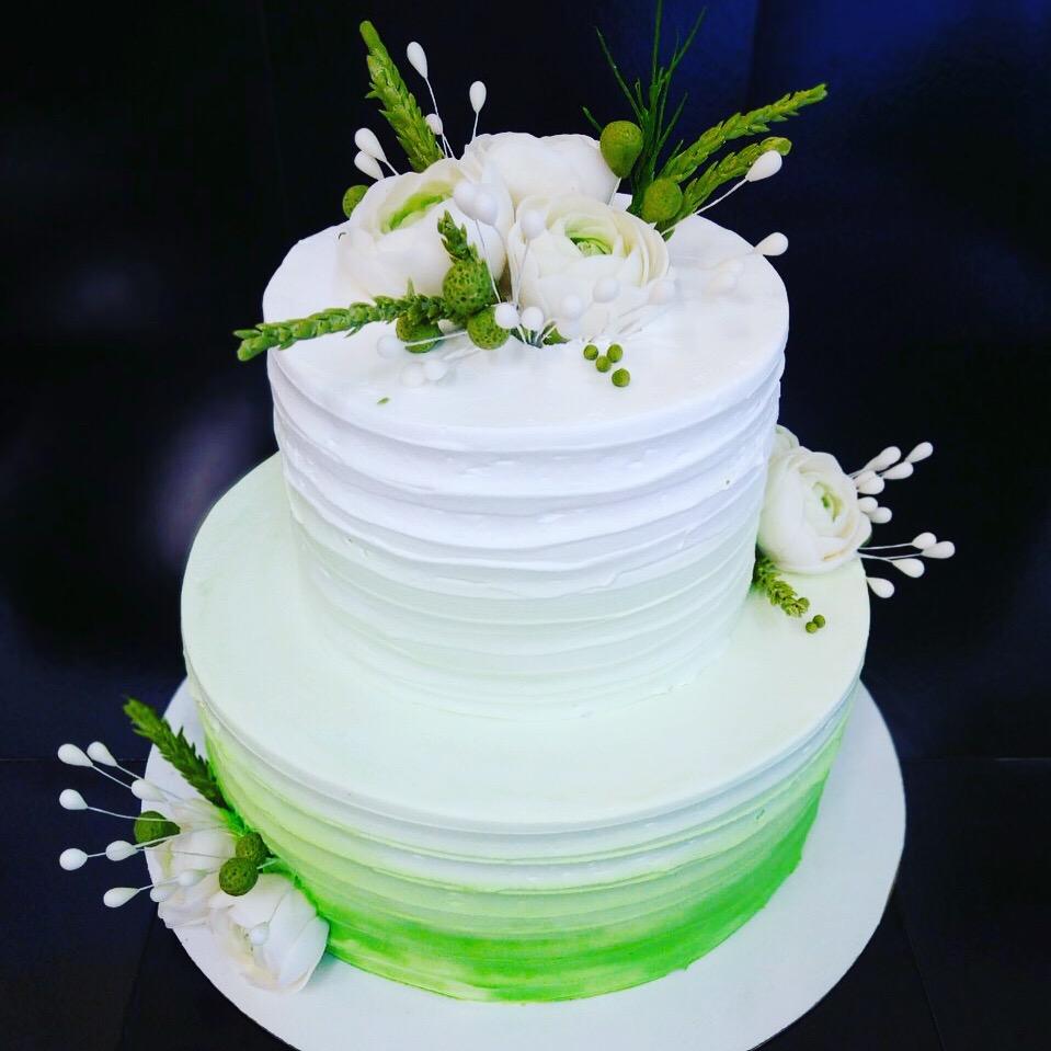 Свадебный торт № С146