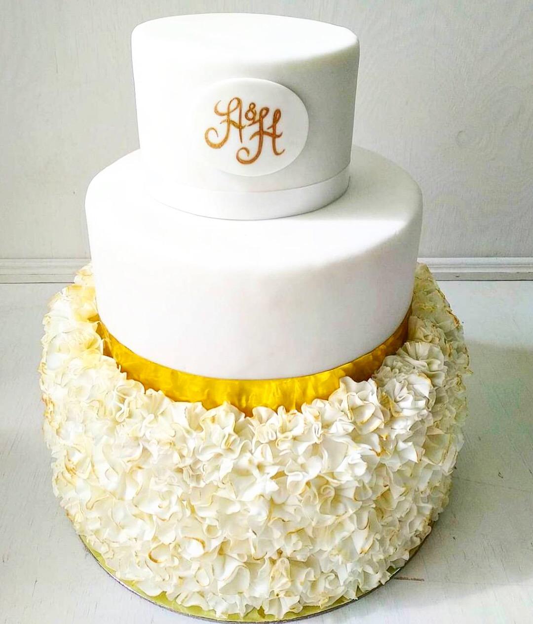Свадебный торт № С125
