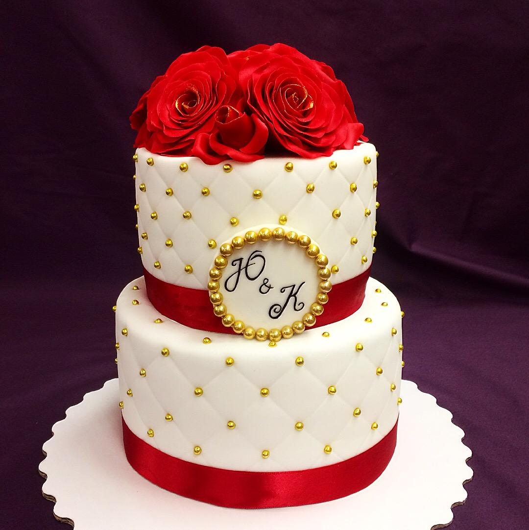 Свадебный торт № С130