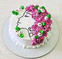 торт Йогурт лесные ягоды 8 марта Яхонт к