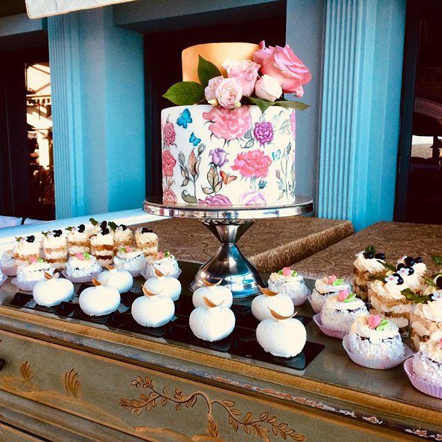 Свадебный торт № С121