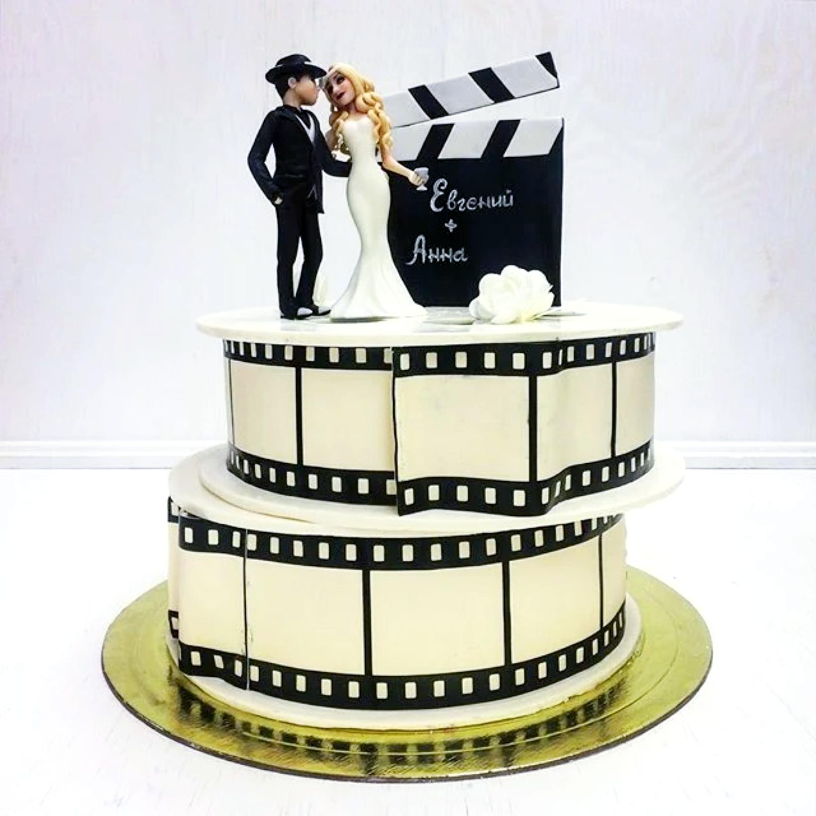 Свадебный торт № С143