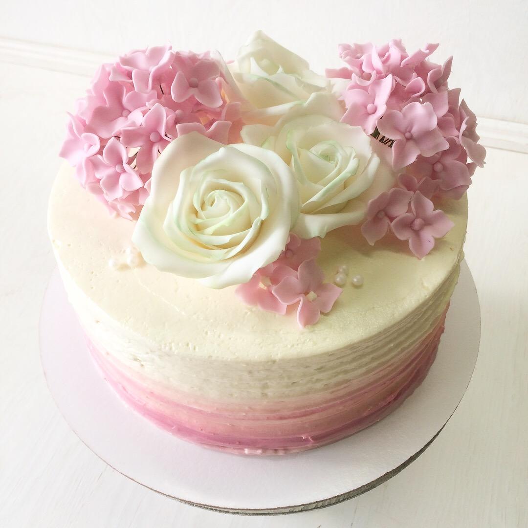 Свадебный торт № С124