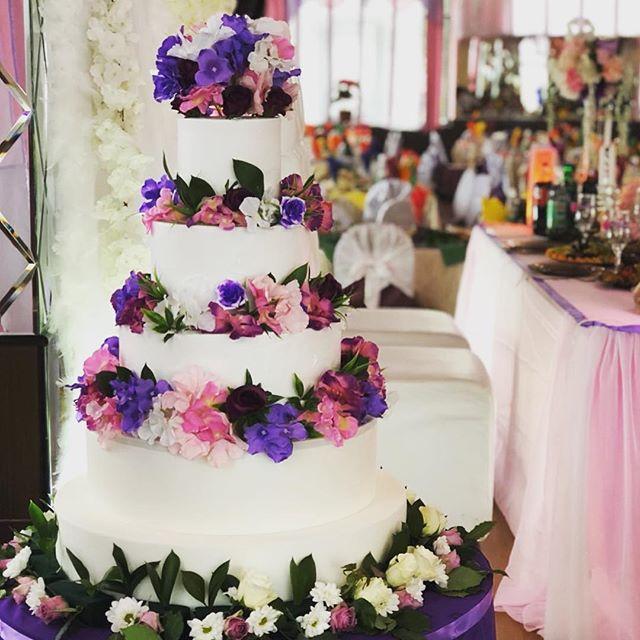 Свадебный торт № С117