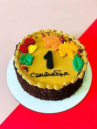 торт Сникерс на 1 сентября