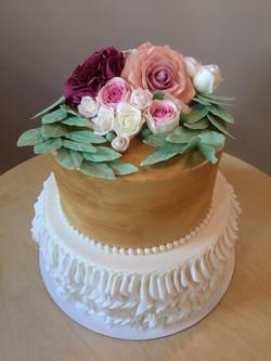 Свадебный торт № С128