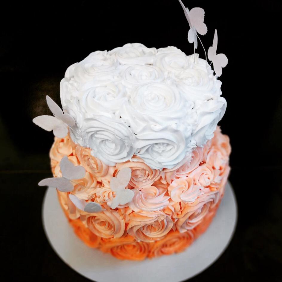 Свадебный торт № С142