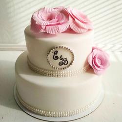 Свадебный торт № С115