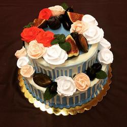 Свадебный торт № С120