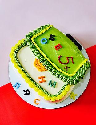 Торт Зебра на 1 сентября
