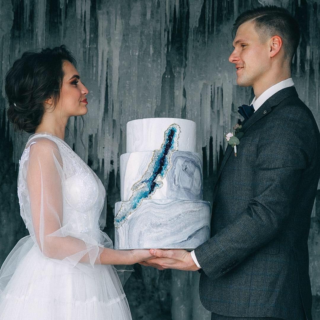 Свадебный торт № С133