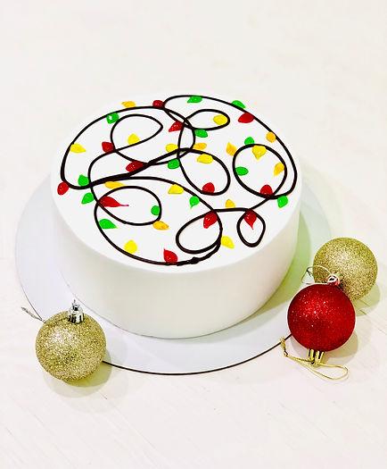 торт Радуга - новый год 2021