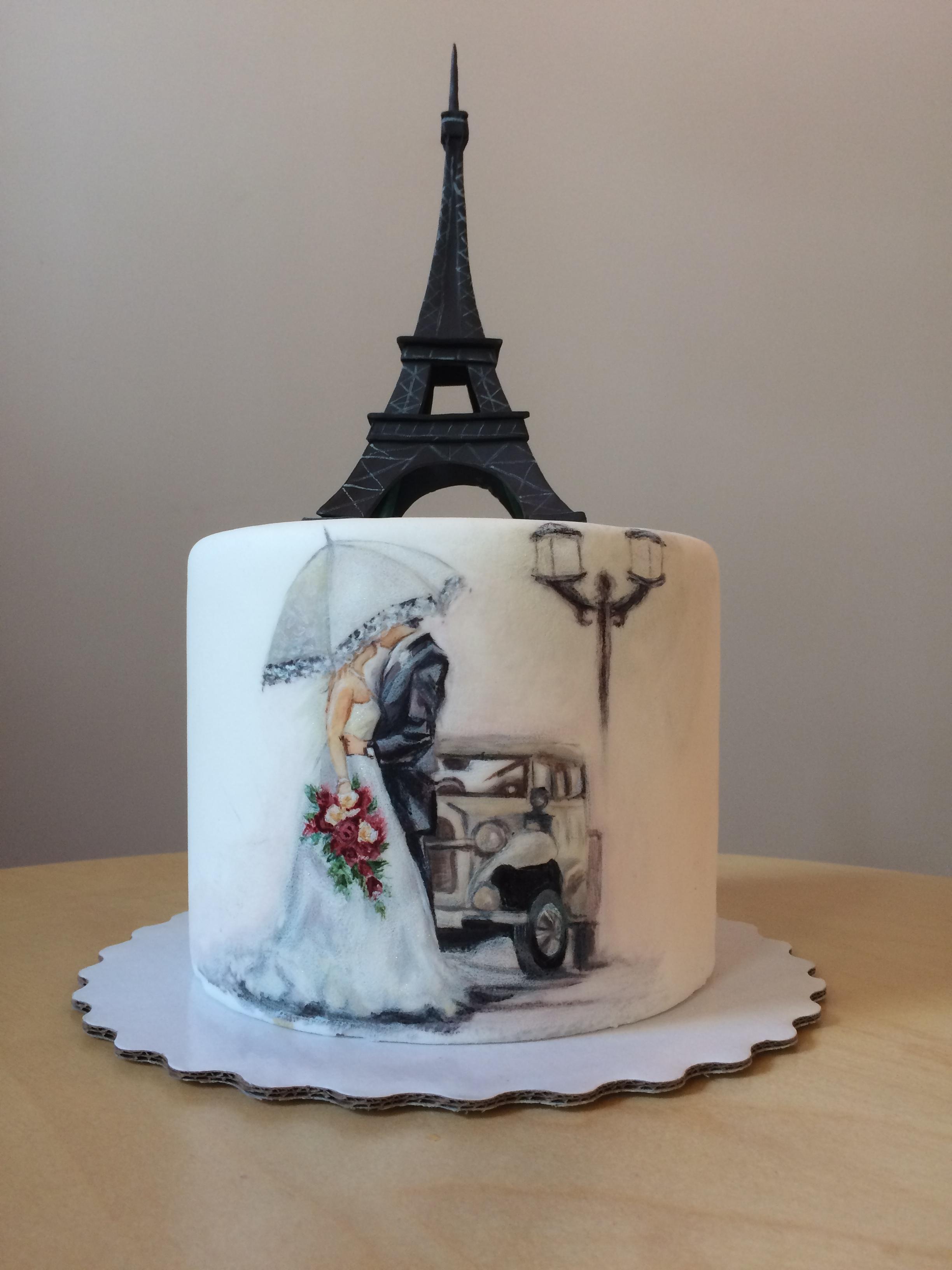 Свадебный торт № С136
