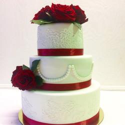 Свадебный торт № С123
