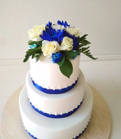 Свадебный торт № С127