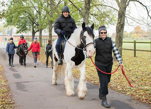 Horse riding at Lee Valley Riding Centre