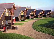Chalets at YHA London Lee Valley