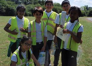 Group orienteering in River Lee Country Park