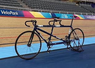 Tandem track bike