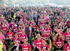 Race for Life on Showground site