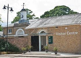 Visitor Centre at Myddelton House Gardens
