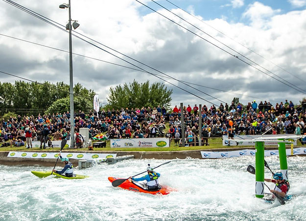 ICF Canoe Slalom World Cup at Lee Valley White Water Centre
