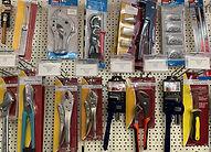 Display fo tools