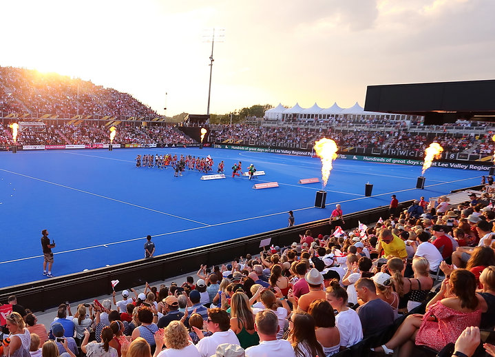England Hockey's FIH Proleague event at Lee Valley Hockey and Tennis Centre